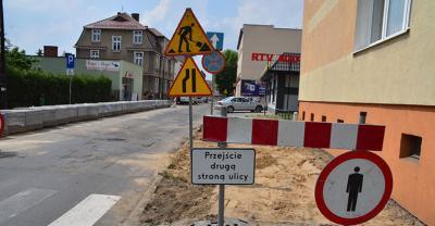 Ulica Słodowa remontowana