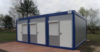 Nowe kontenery dla piłkarzy