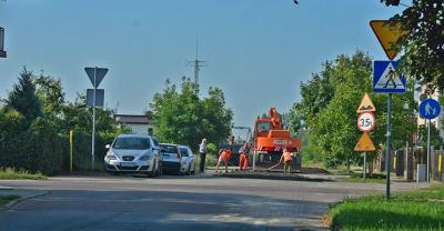 Nakładka asfaltowa na Langiewicza