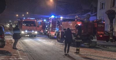 Groźny pożar w Sulmierzycach