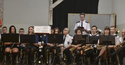 Koncert orkiestr dętych w Kobylinie