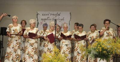 XXVII Przegląd zespołów chóralnych w Kobylinie