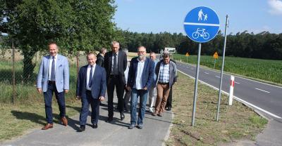 Ścieżka rowerowa na Chachalnię odebrana