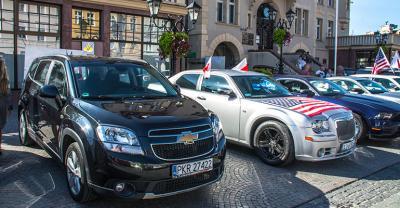 Amerykańskie auta oczarowały krotoszynian