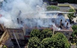 Pożar szkoły w Krotoszynie