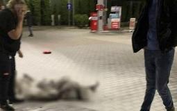 Nie żyje 55-latek, który podpalił się na stacji paliw
